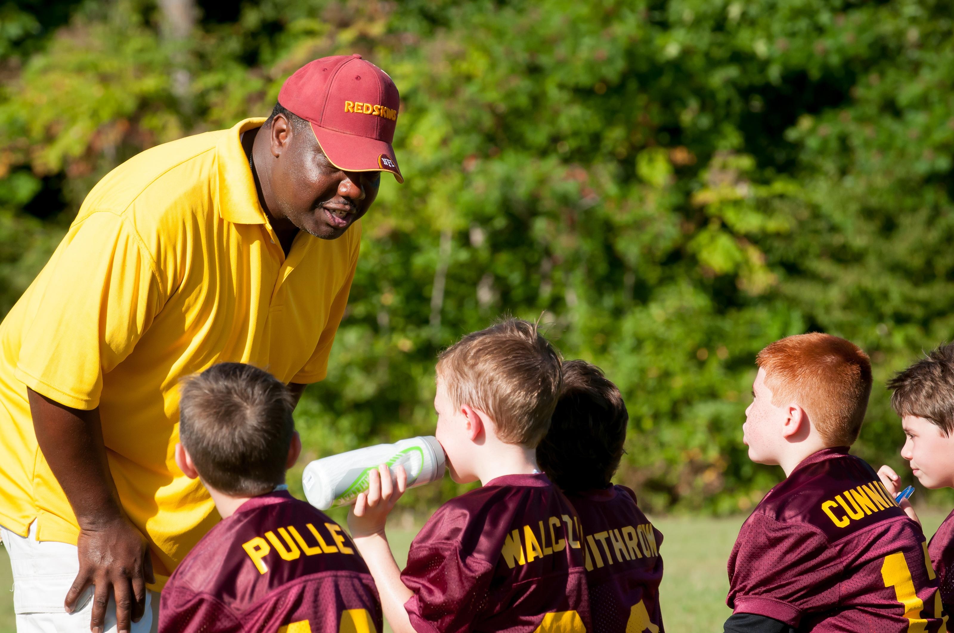 flagball futebol crianças esporte treinador