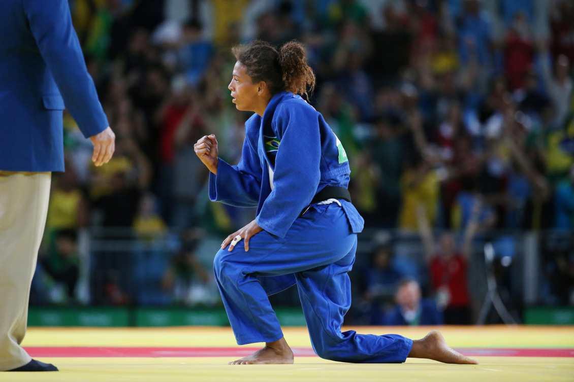 rafaela silva campeã olímpica judô esporte não é coisa de menina