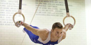 Curso de ginástica artística no Impulsiona