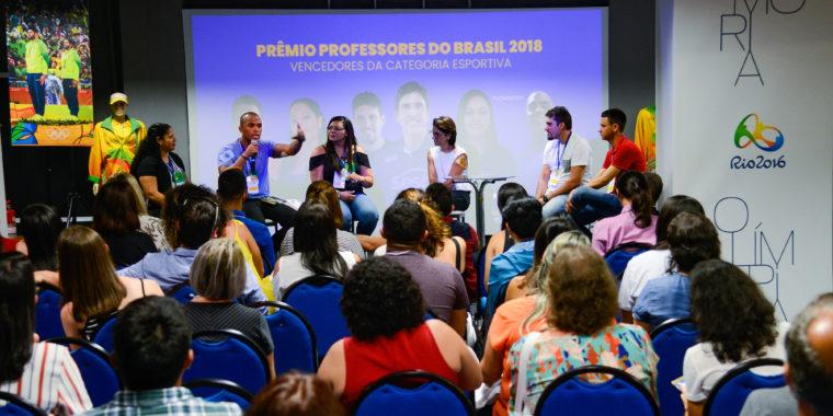 Vencedores da categoria esportiva do Prêmio Professores do Brasil 2018 falam sobre seus projetos