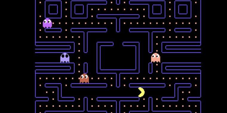 Pac Man adaptado para a aula de Educação Física