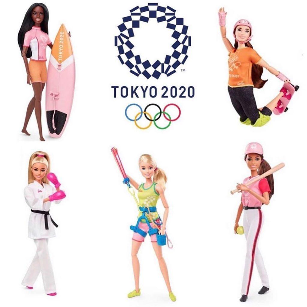 barbies e logo toquio 2020