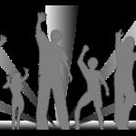 sombras pose dança