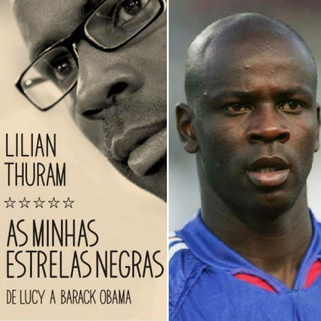 atletas negros thuram e seu livro