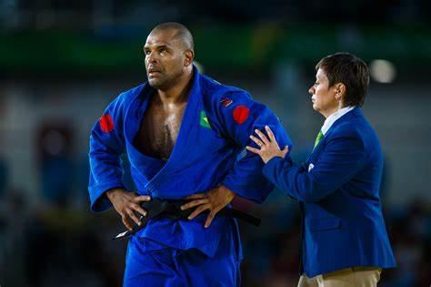 Judoca Paralímpico Antônio Tenório