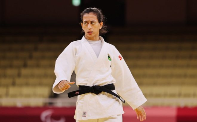Judoca Paralímpica Lúcia Araújo nos Jogos Paralímpicos de Tóquio 2020