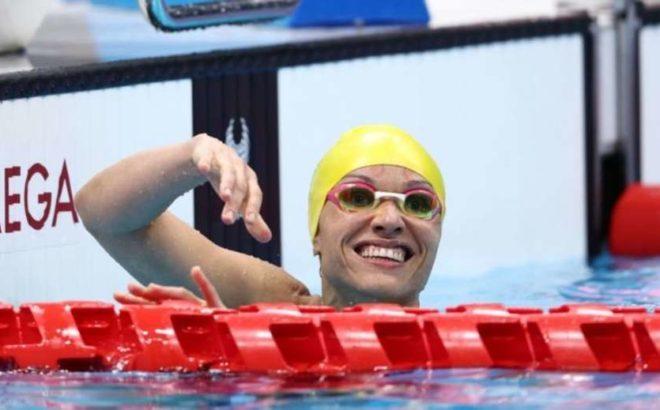 Nadadora Paralímpica Maria Carolina Santiago nos Jogos de Tóquio 2020